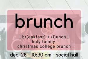 Brunch for College Students