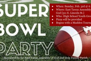 Youth Group Super Bowl Party
