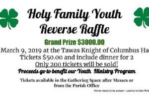 Holy Family Youth Reverse Raffle