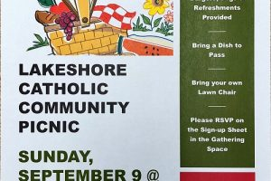 Lakeshore Catholic Community Picnic