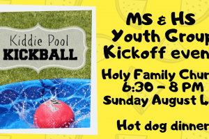 Youth Group Kickoff